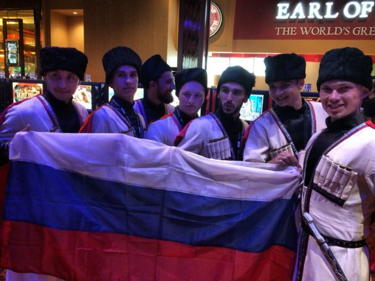Старший состав United BIT на World Hip Hop Dance Championship 2015 - San Diego